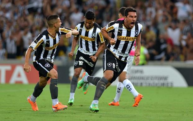 Ferreyra gol Botafogo (Foto: André Durão / Globoesporte.com)