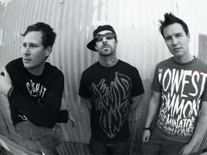 A banda californiana Blink-182 (Foto: Divulgação/Myspace do artista)