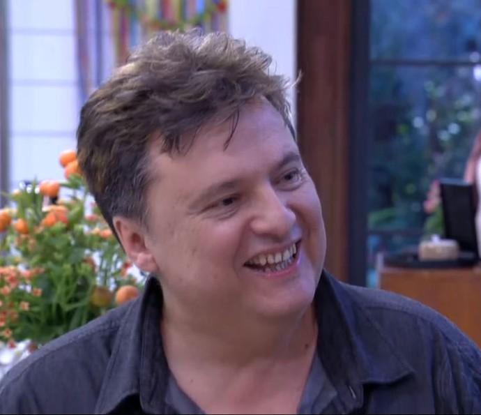 Del, do 'Jogo de Panelas 19', responde a perguntas dos internautas (Foto: TV Globo)