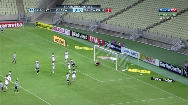 Ceará x Santa Cruz - Campeonato Brasileiro Série B 2017-2017 ... 5de043d2099ac