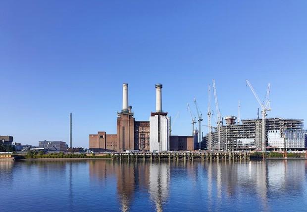 Como é hoje a Battersea Power Station (Foto: Divulgação)