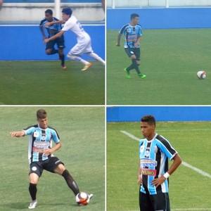 Jogadores do Porto-PE que reforçaram o Flamengo de Arcoverde (Foto: Divulgação)
