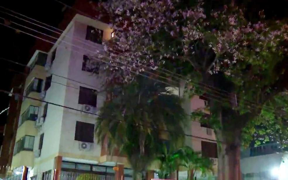 Apartamento da presidente na Zona Sul de Porto Alegre (Foto: Reprodução/RBS TV)
