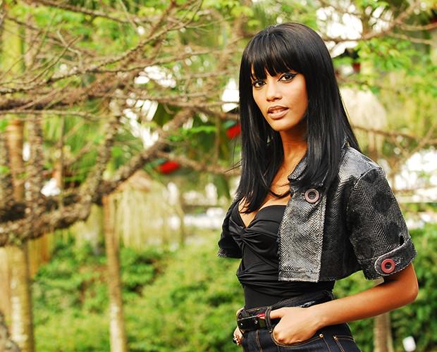 Alícia (Taís Araújo) na novela 'A Favorita' em 2008 (Foto: João Miguel Júnior / TV Globo)