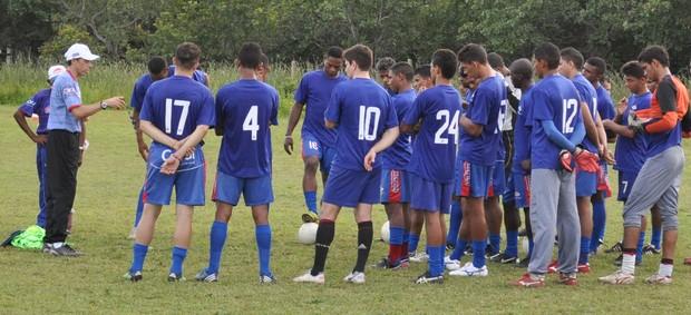 Piauí - treino (Foto: Renan Morais/GLOBOESPORTE.COM)