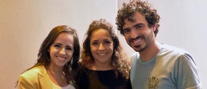 Daniela Mercury e a companheira, Malu Verçosa, com os filhos (Foto: Arquivo pessoal e Gshow)
