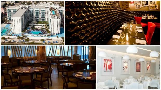 Em Miami, Eduardo Cunha esteve nos restaurantes Nobu, Il Mulino e Prime Italian e se hospedou no The Perry (Foto: Reprodução)