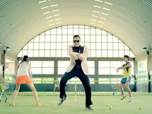 O cantor Psy, que interpreta o hit 'Gangnam Style' (Foto: Reprodução)