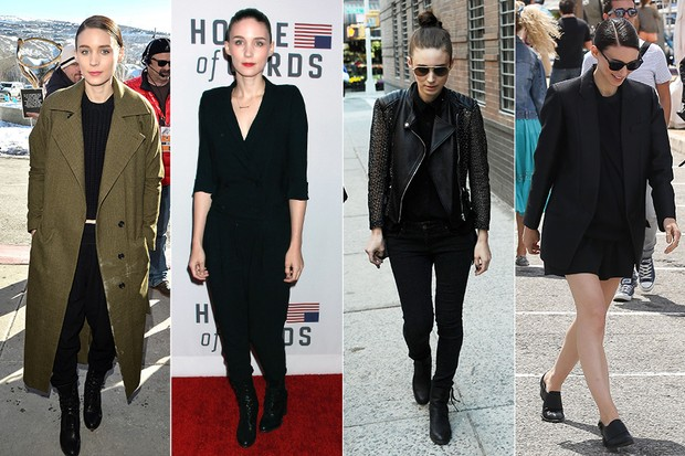 Rooney Mara - casual (Foto: Getty Images)