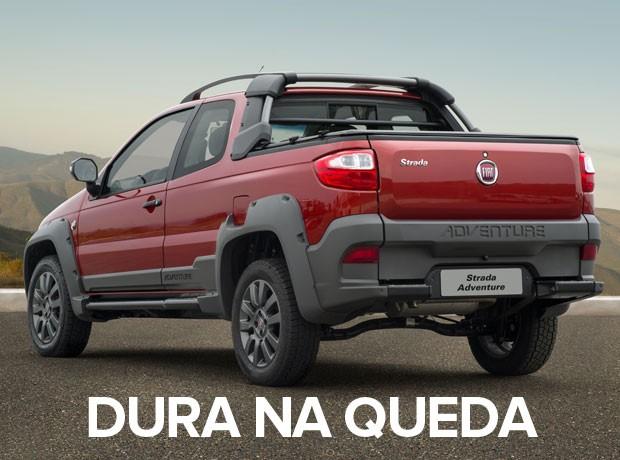 carros mais vendidos por estado 2015 - strada (Foto: Divulgação)