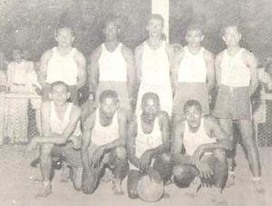 Time de basquete do Confiança (Foto: Arquivo/ADC)
