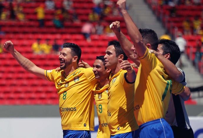 Futsal Brasil (Foto: Francisco Stuckert / Ag. Estado)