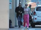 Com febre, Andressa Urach vai a hospital após lipoaspiração nas pernas