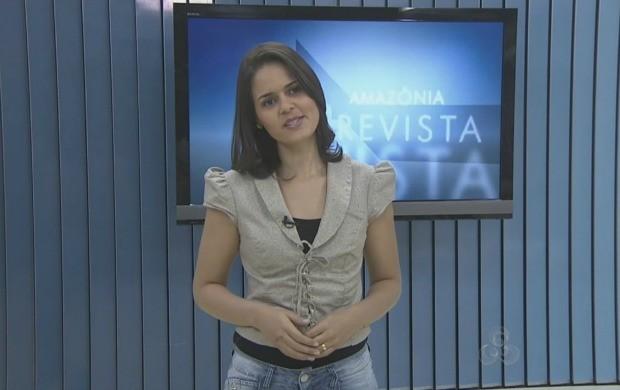 Samia Roberta fala sobre os destaques do programa de sábado. (Foto: Bom Dia Amazônia)