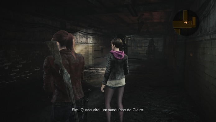 Resident Evil Revelations 2 Cap. 1 (Foto: Vinicius Mathias / TechTudo)