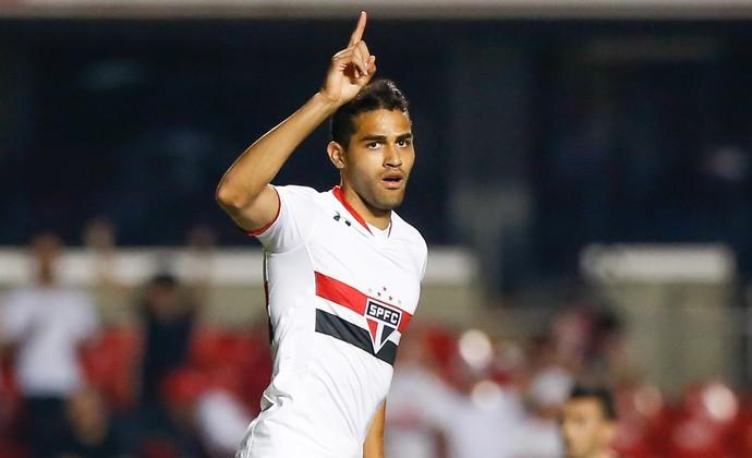 São Paulo x Atlético-MG Alan Kardec (Foto: Marcelo Zambrana/Agif/Estadão Conteúdo)
