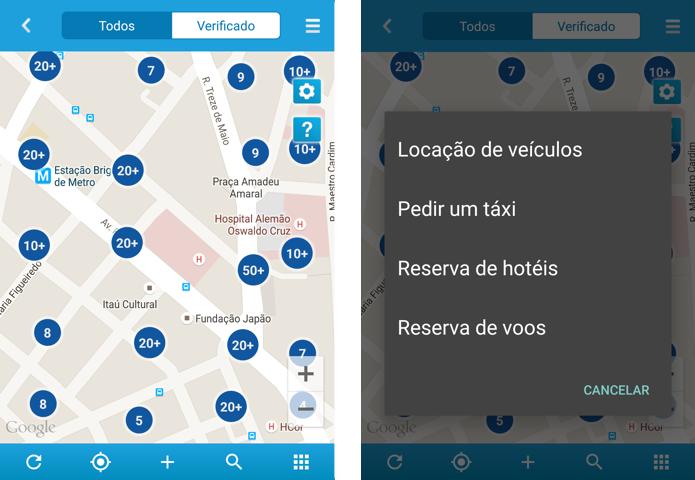 MadiC Magic traz atalhos para chamar táxi, reservar hotel e mais (Foto: Reprodução/Paulo Alves)