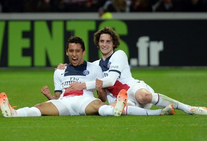 marquinhos PSG paris saint-germain x Lille (Foto: AFP)