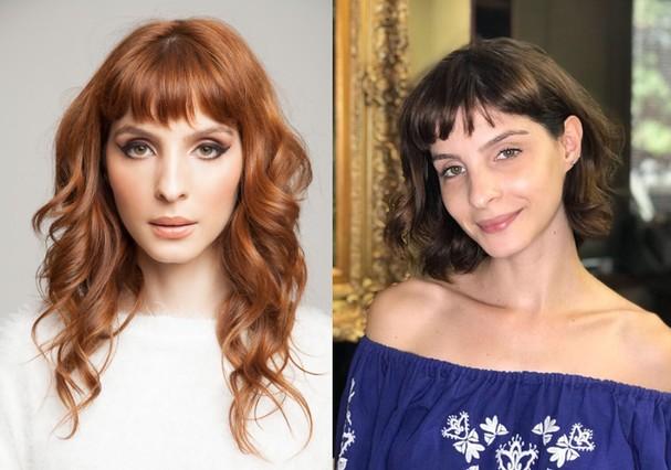 Giselle Batista: antes e depois (Foto: Divulgação)