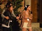 Carol Castro e Fernanda Machado ensaiam 'Paixão de Cristo'