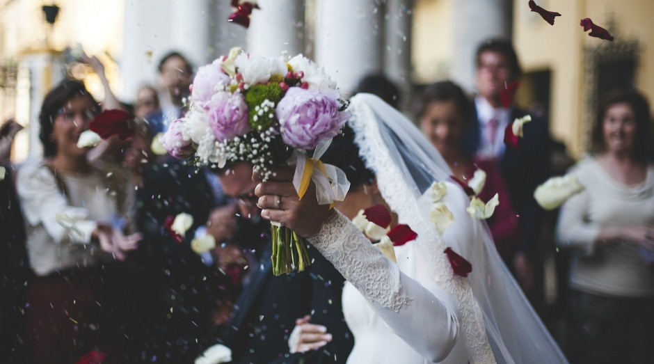 Casamento, festa, noivos (Foto: Pixabay)
