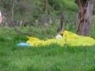 Polícia investiga como homicídio culposo queda de paraquedistas