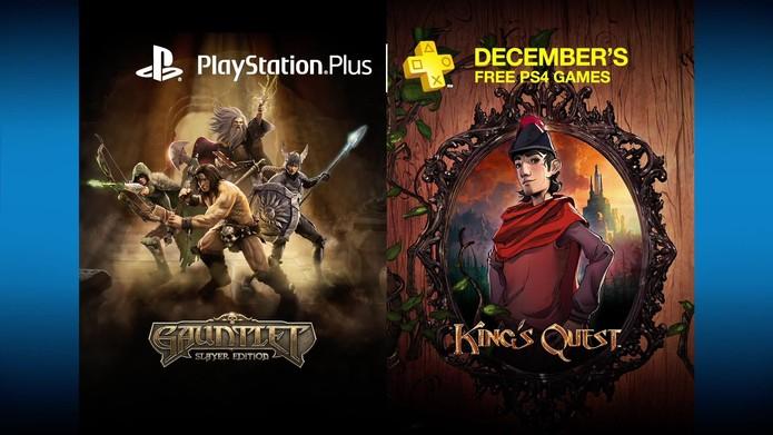 Gauntlet: Slayer Edition e o primeiro capítulo de Kings Quest são os jogos de PS4 desse mês (Divulgação/Sony)