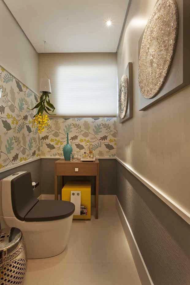 Banheiros elegantes para se inspirar