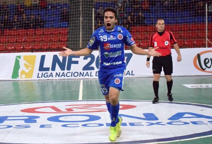 Vitão Guarapuava x Joaçaba Liga Nacional de Futsal (Foto: Divulgação/Joaçaba)
