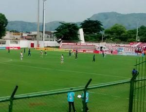 Bangu vence o Barra Mansa por 2 a 1 em Moça Bonita (Foto: Rênnier Guimarães/Arquivo Pessoal)