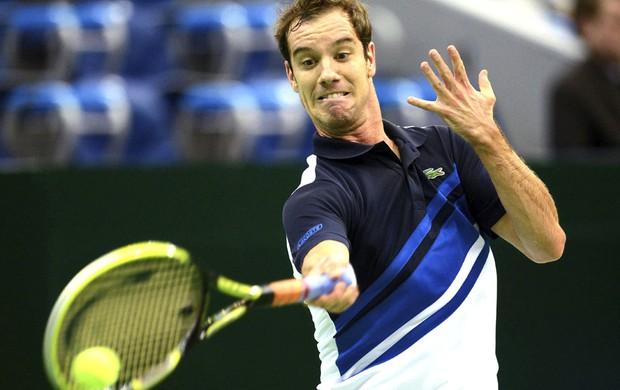 Tênis Gasquet ATP 250 de Moscou (Foto: Agência EFE)