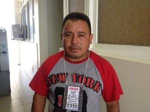 Magno Pantoja, presidente da Associação de Moradores do Perpétuo Socorro (Foto: Fabiana Figueiredo/G1)