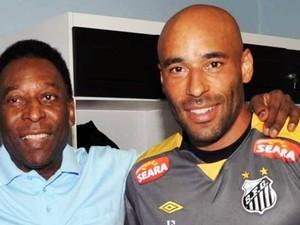 Edinho tem história ligada ao Santos e nunca saiu do futebol paulista como profissional (Foto: Divulgação/ Santos FC)