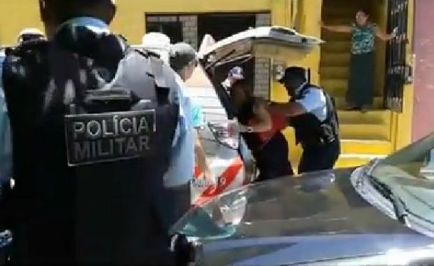 Segundo OAB, policiais agrediram advogada em Fortaleza (Foto: OAB/Reprodução)