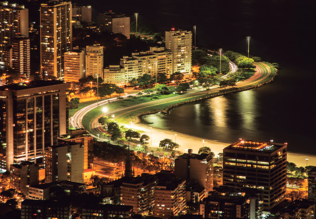 Rio de Janeiro iluminado (Foto: Thinkstock)