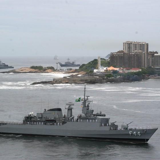Fragata Independência (Foto: Marinha do Brasil)