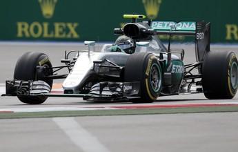 Nico sobra e dá couro em Hamilton no 1º treino livre em Sochi; Massa é o 5º