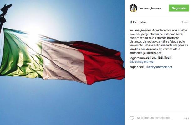 Post de Luciana Gimenez (Foto: Reprodução/Instagram)