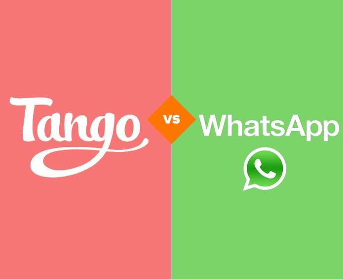 Tango x WhatsApp (Foto: Arte/TechTudo)