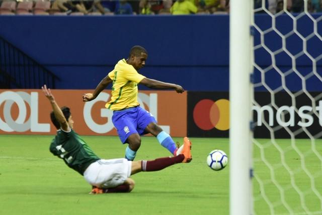 Brasil x México - Amistosos 2018 - globoesporte.com 16ddf9a686ccb