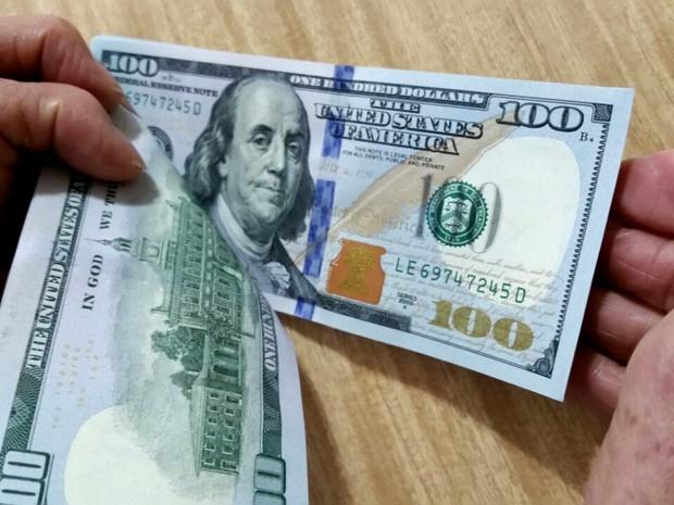 Dólar (Foto: Heloise Hamada/G1)