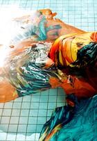 Grávida de sete meses, Bárbara Borges mostra o barrigão em ensaio de moda
