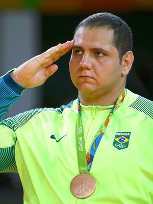 Rafael Silva, Pódio Judô (Foto: Agência Reuters)