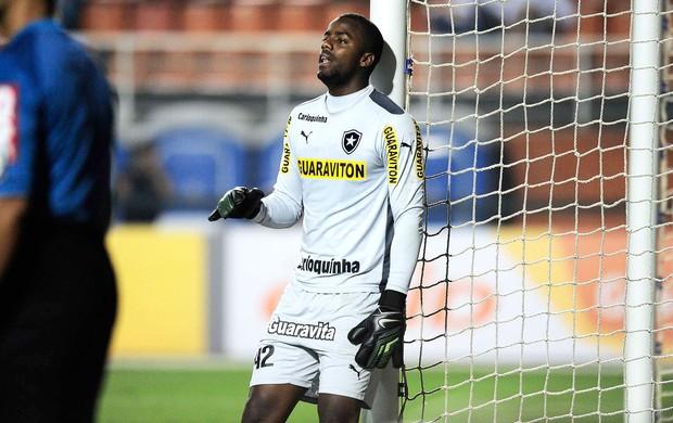 Andrey, santos X Botafogo (Foto: Marcos Ribolli)