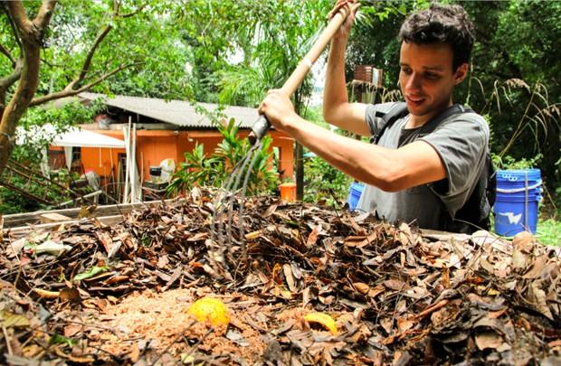 Lucas Chiabi, da Ciclo Orgânico (Foto: Divulgação)