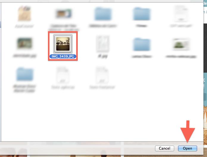 Realizando o upload do arquivo de imagem do computador para o PicMonkey (Foto: Reprodução/Marvin Costa)