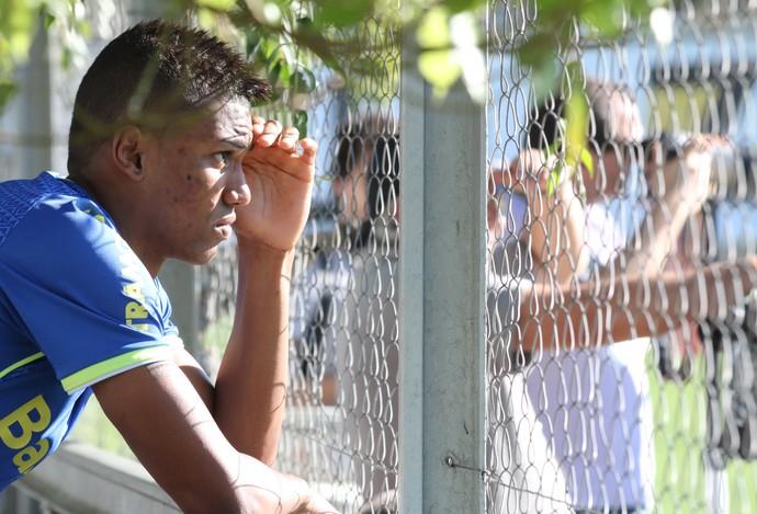 walace gremio treino (Foto: Eduardo Deconto/GloboEsporte.com)