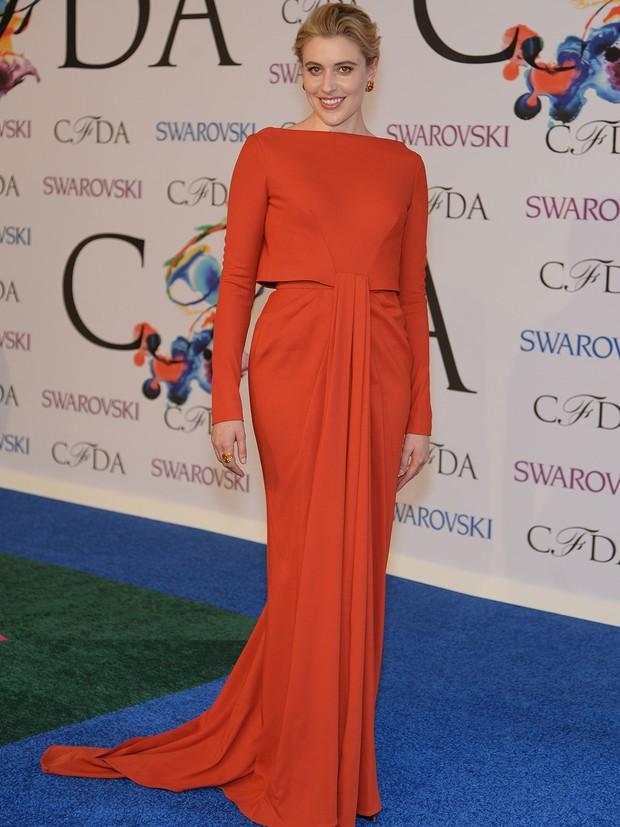 Greta Gerwig no CFDA Awards (Foto: AFP / Agência)