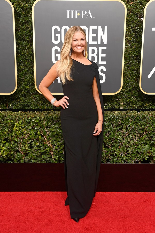BEVERLY HILLS, CA - JANUARY 07:  TV personality Nancy O'Dell attends The 75th Annual Golden Globe Awards at The Beverly Hilton Hotel on January 7, 2018 in Beverly Hills, California.  (Photo by Frazer Harrison/Getty Images) (Foto: Getty Images)