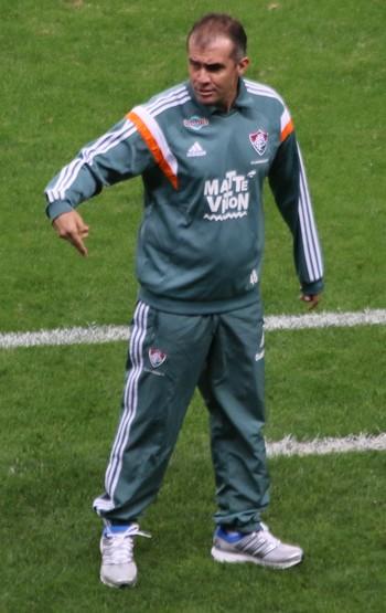 Eduardo Baptista Grêmio x Fluminense (Foto: Eduardo Moura/GloboEsporte.com)